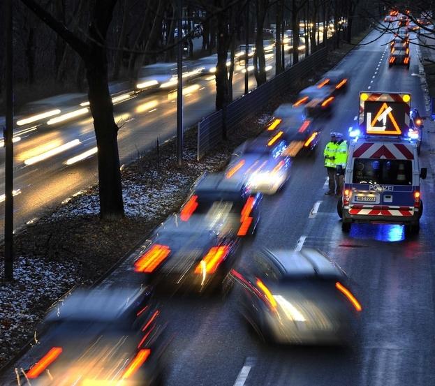 Bild einer Verkehrssituation